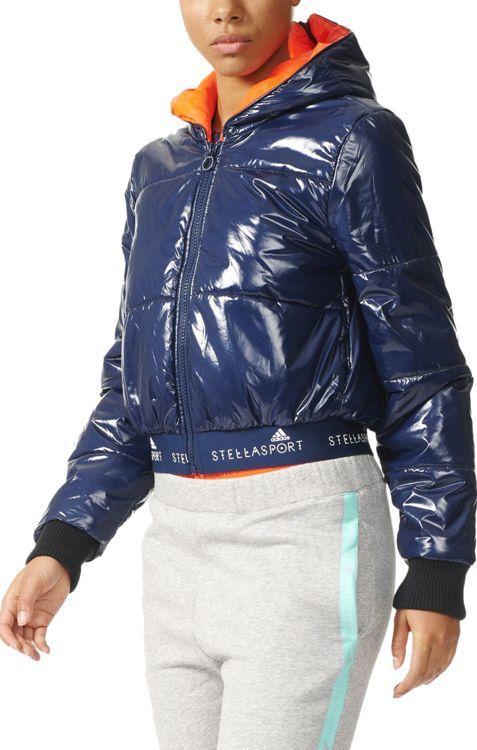 Granatowa kurtka adidas Stella McCartney
