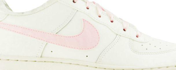 Nike Air Force 1 GS 314219 130   Kremowy, Różowy