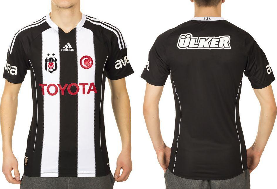 bfc5b0d2018dcf Adidas Koszulka piłkarska Besiktas JK 11 Away Jersey czarno-biała r. XXL  (L20063)