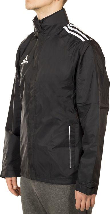 Adidas Kurtka męska Core11 Rain Jacket czarna (V39447) ID produktu: 5756635