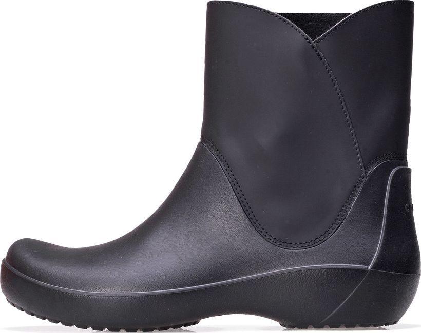 Crocs Kalosze Crocs Rainfloe Bootie Black 203417 001 38 39 ID produktu: 5756890