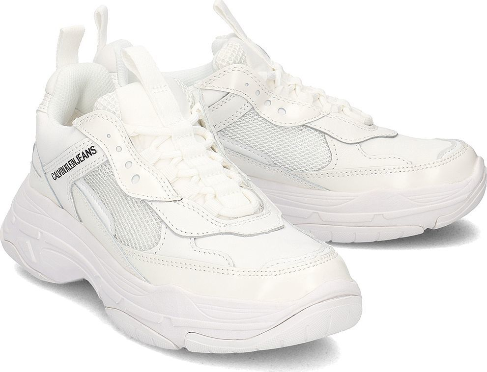 Calvin Klein Calvin Klein Jeans Sneakersy Damskie R7797 BRIGHT WHITE 39 ID produktu: 5760359
