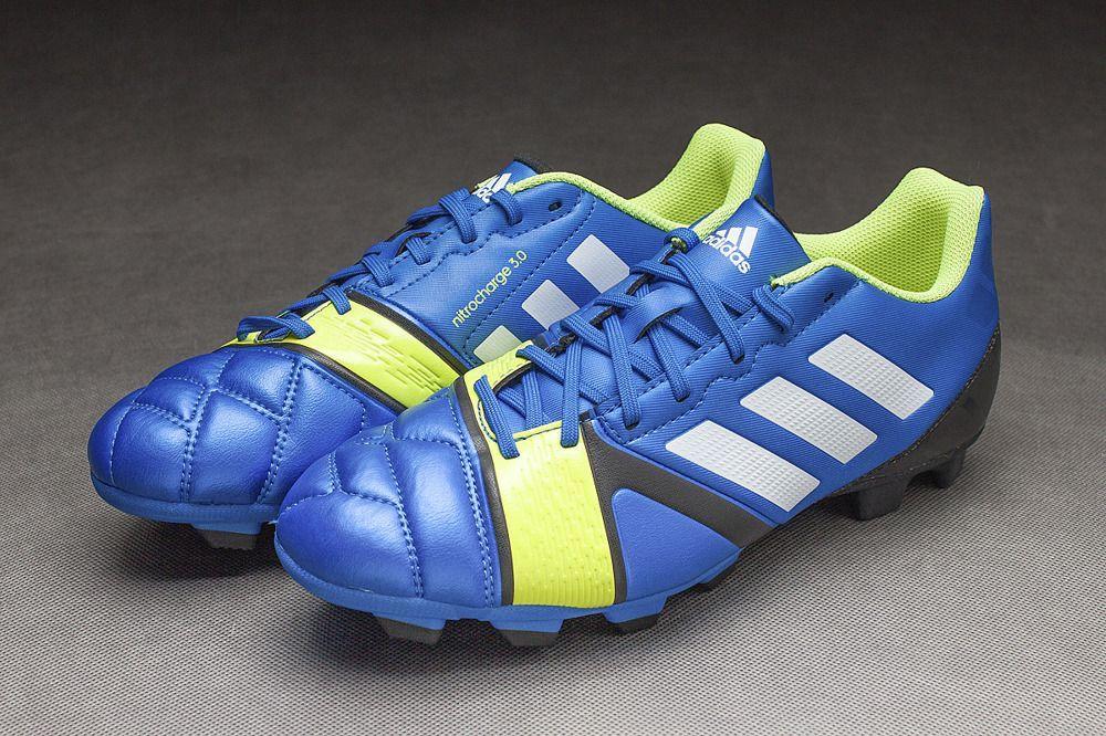 Adidas Buty piłkarskie Nitrocharge 3.0 Trx Fg niebieskie r. 40 (Q33685) ID produktu: 5761333