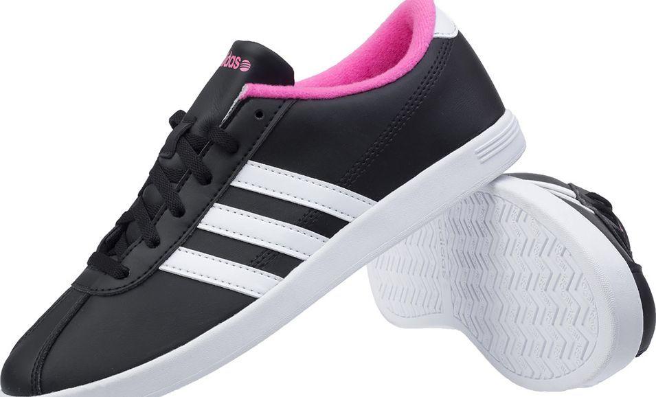 Adidas Buty damskie Vlneo Court LO czarno różowe r. 38 (F38398) ID produktu: 5761387