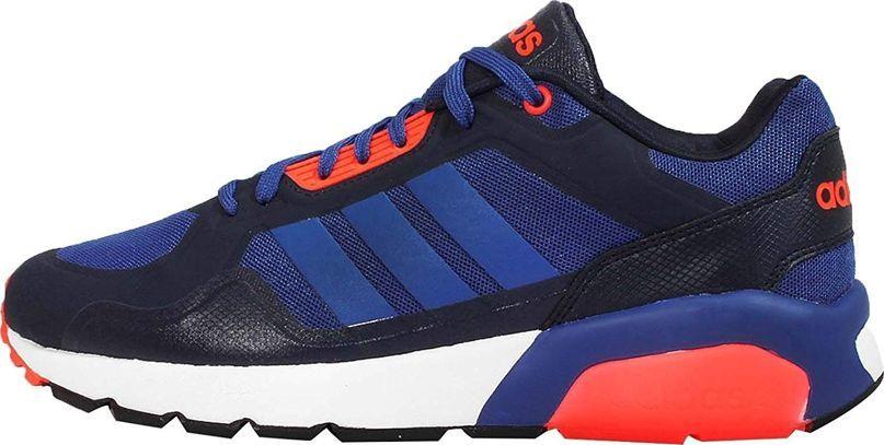 Męskie Adidas Run9tis TM Biały Czarny Niebieski Zielony