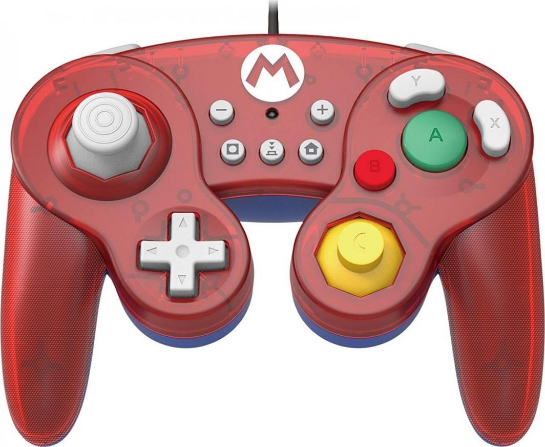 Gamepad HORI Switch GameCube Style BattlePad - Mario (NSW-107U) 1