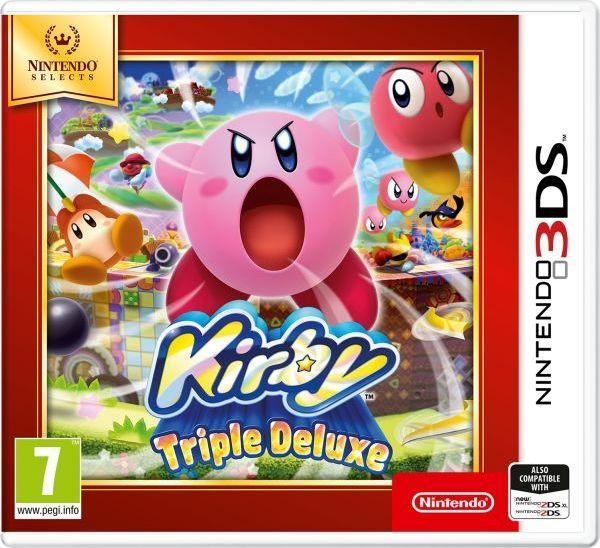 Kirby Triple Deluxe Nintendo 3DS 1