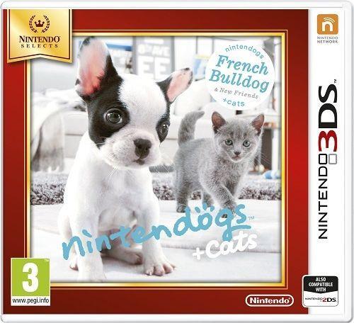 Gra Nintendo 3DS Nintendogs+Cats-French Bull & new Friends 1