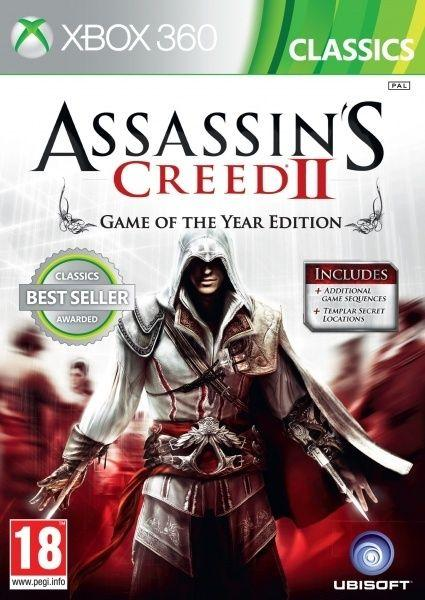 Assassins Creed 2 GOTY Classics Xbox 360 1