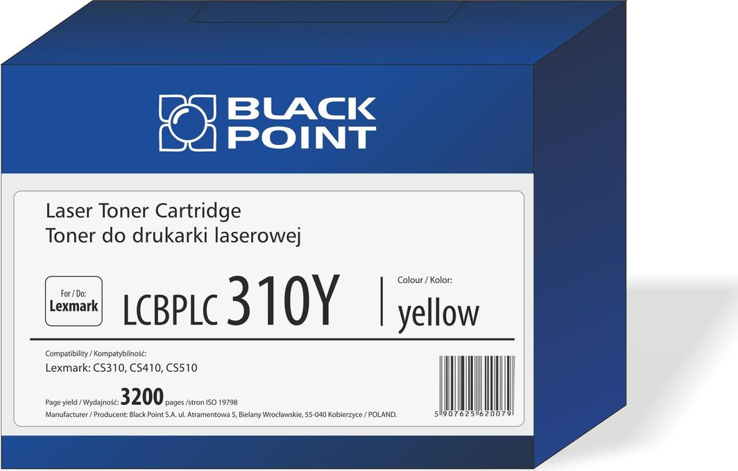 Black Point Toner LCBPLCS310Y Yellow (70C2HY0) 1