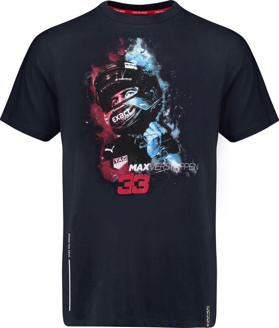 8d5db14869aa2 Red Bull Racing F1 Team Koszulka T-shirt męski granatowy Max Verstappen  Vapour Red Bull Racing F1 Team 2018 XXL w Sklep-presto.pl