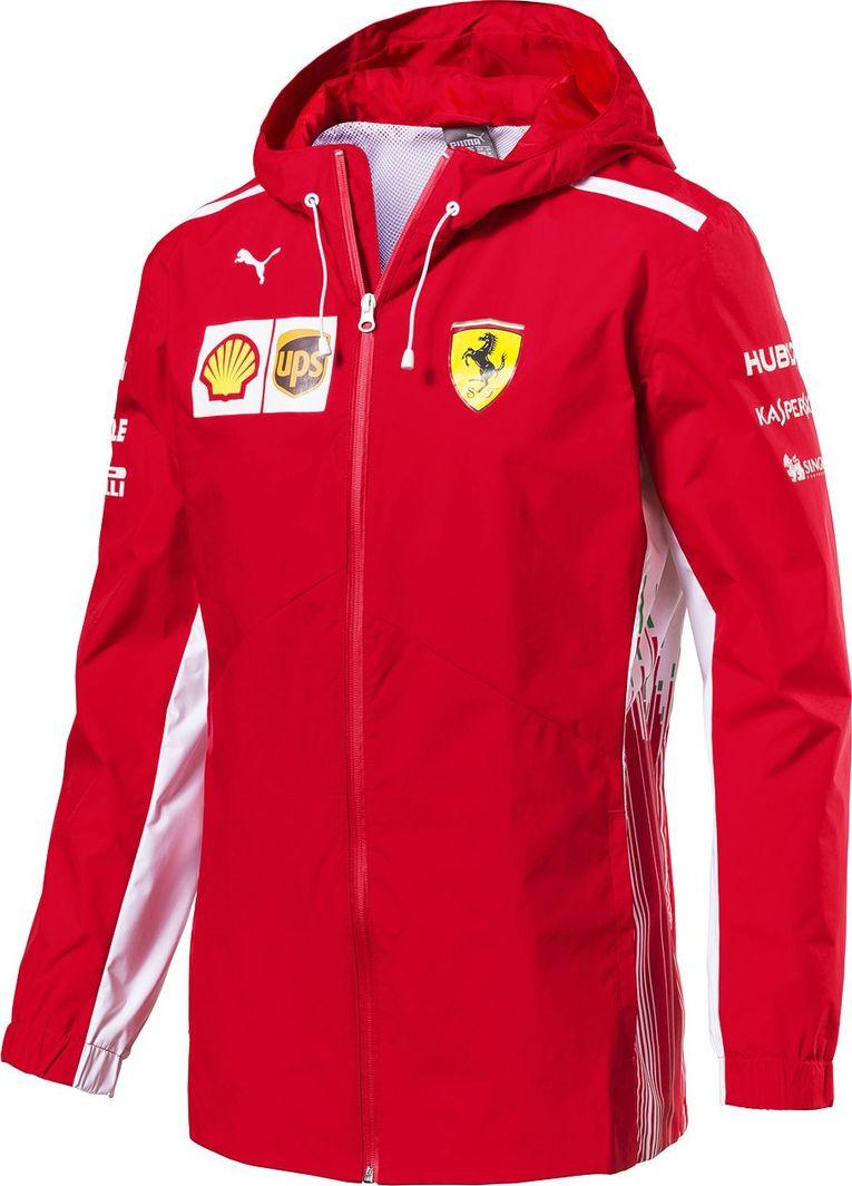 7ca44b743617f Scuderia Ferrari F1 Team Kurtka męska Rain czerwona Scuderia Ferrari F1 Team  2018 XL w Sklep-presto.pl