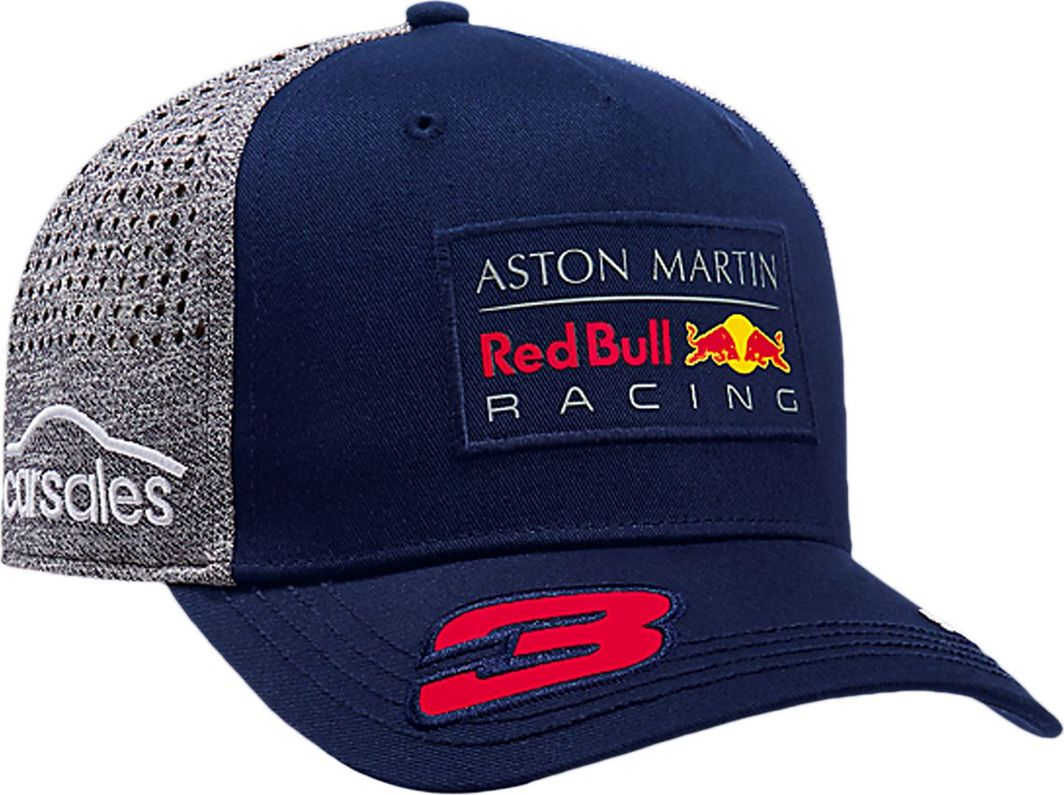 85b1f5e71 Red Bull Racing F1 Team Czapka Baseballowa Ricciardo granatowa Red Bull  Racing F1 Team 2018 universal w Sklep-presto.pl