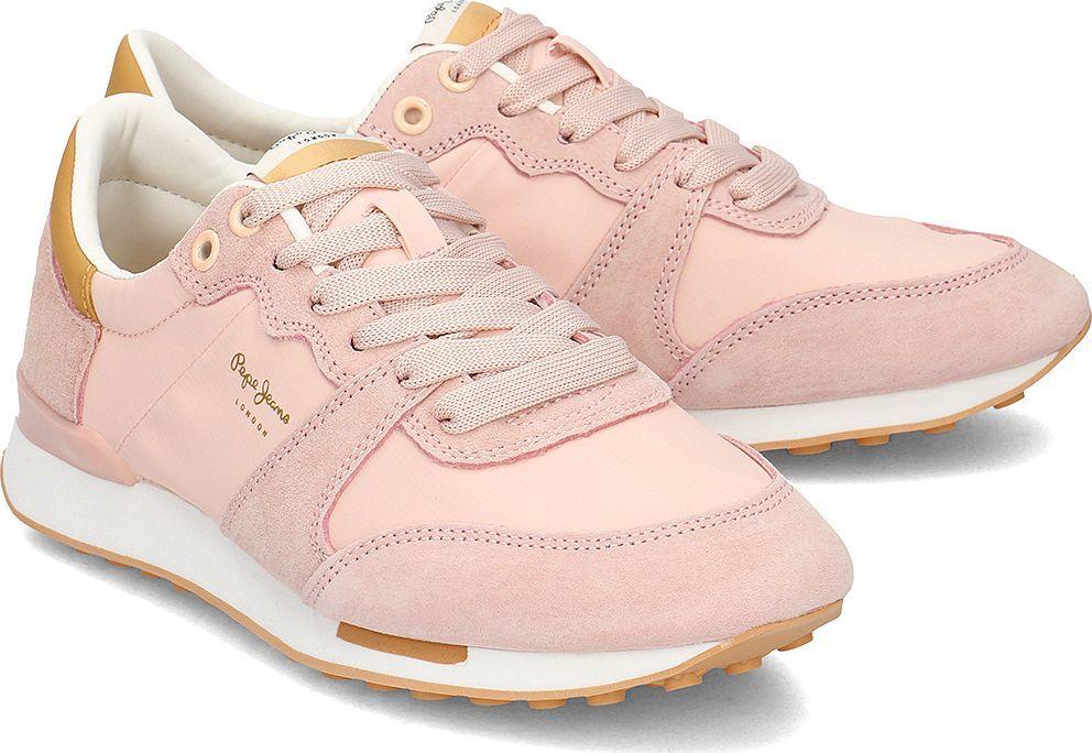 Sneakersy PEPE JEANS Bimba Soft PLS30861 Pink 325