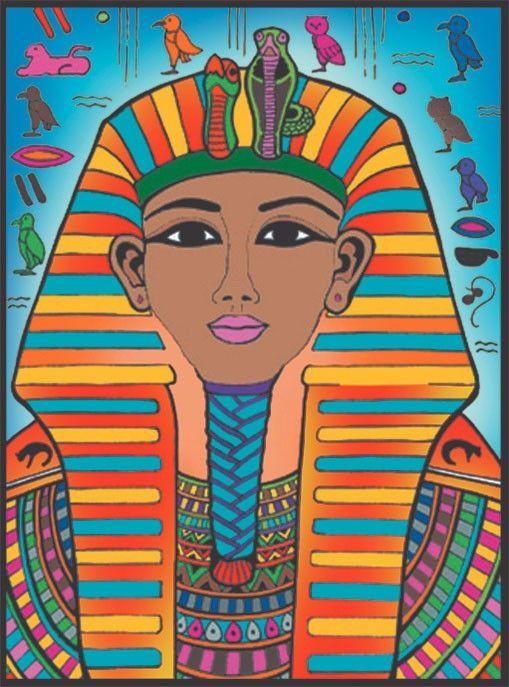 Painting Velvet Kolorowanka Welwetowa 37x28cm Faraon W Hulahop Pl