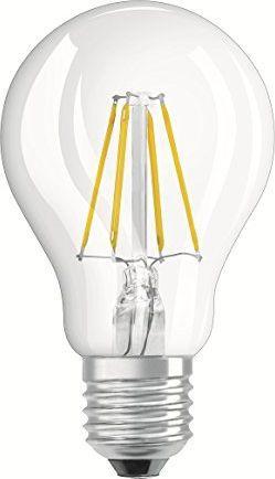 Ledvance Żarówka LED VALUE CLA 40 4W/827 220-240V FILAMENT E27 470lm 4058075819634 1