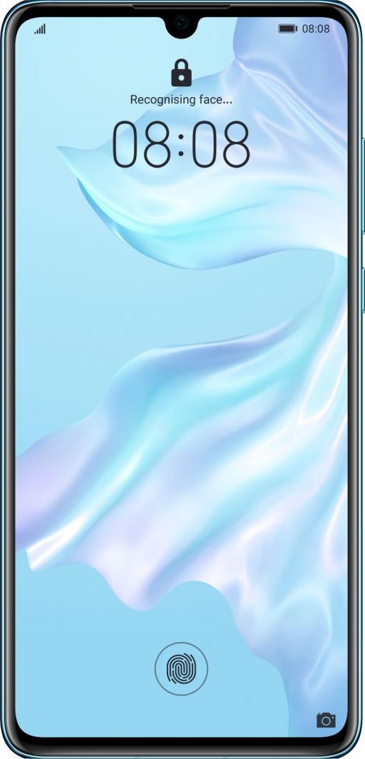Smartfon Huawei P30 128 GB Dual SIM Niebiesko-różowy  (6901443284597) 1