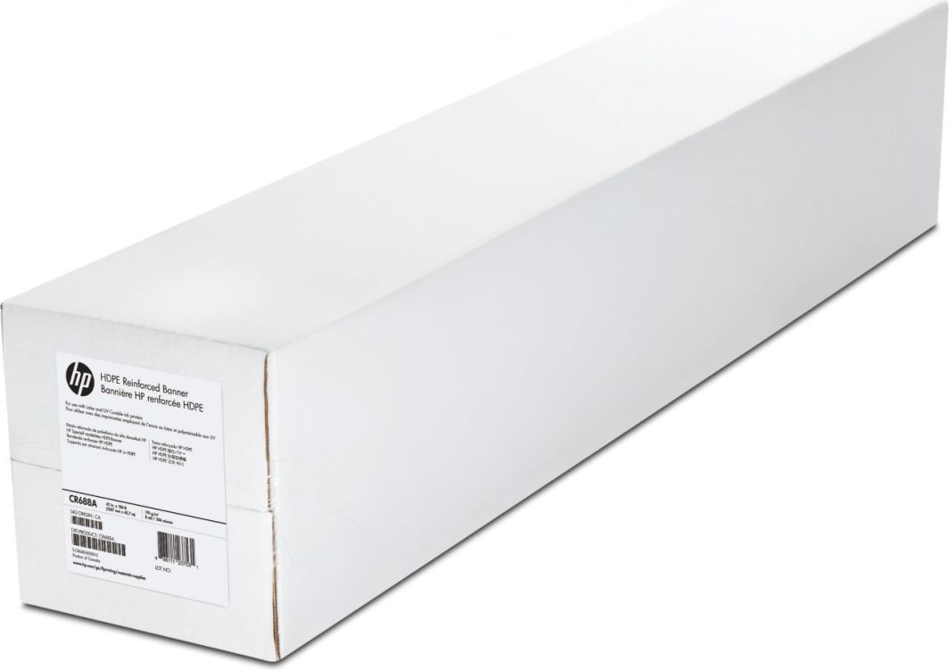 HP HDPE Reinforced Banner 1067mm x 45.7m (CR688A) 1