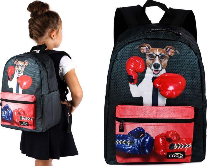 Cogio Kids Italy Plecak szkolny 5061AM czarny 1