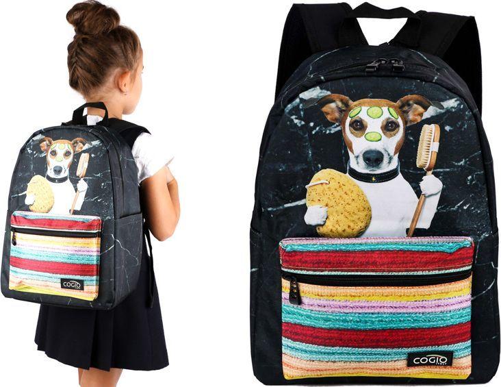 Cogio Kids Italy Plecak szkolny 5064AM czarny 1