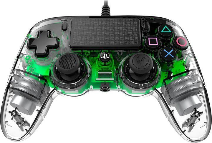 Gamepad Nacon PS4 compact zielony świecący 1