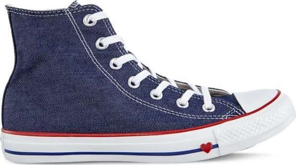 Converse Buty uniseks Chuck Taylor All Star Sucker Love Indigo Enamel Red Blue r. 38 ID produktu: 5785902
