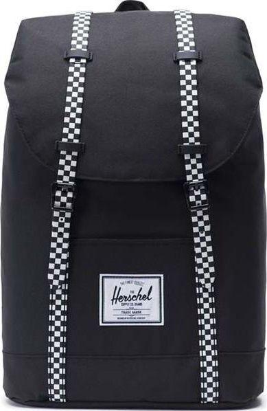 52ab196db62bf Herschel Plecak miejski Retreat Black Checkerboard uniwersalny w Sklep -presto.pl