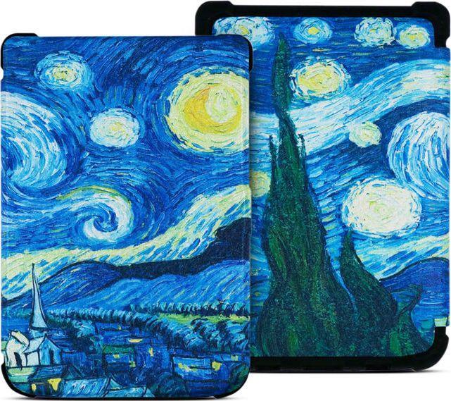 Pokrowiec Alogy Etui do czytników PocketBook Gwiaździsta noc 1