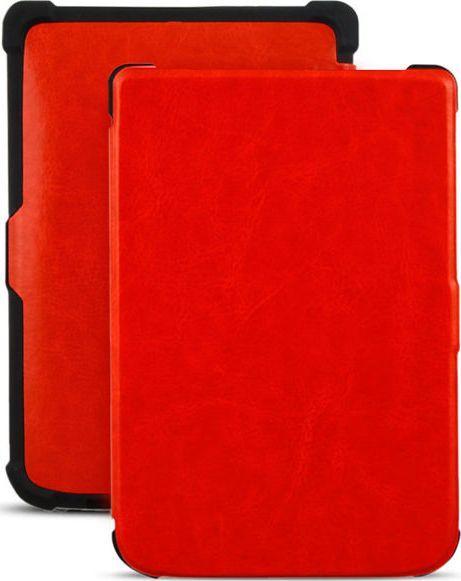 Pokrowiec Alogy Etui do czytników PocketBook czerwone 1