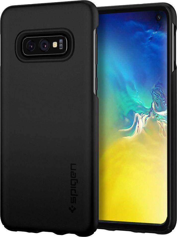 Spigen Nakładka Thin Fit do Samsung Galaxy S10e czarna 1