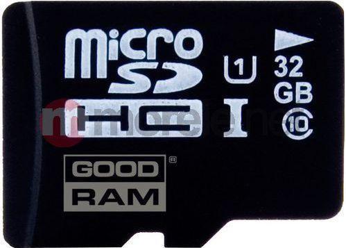 Karta GoodRam MicroSDHC 32 GB Class 10 UHS-I/U1  (SDU32GHCUHS1AGRR10) 1
