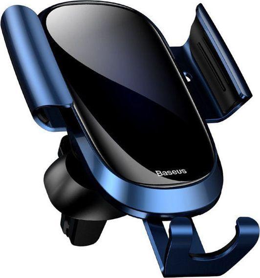 Uchwyt Baseus Future grawitacyjny samochodowy do kratki Blue uniwersalny 1