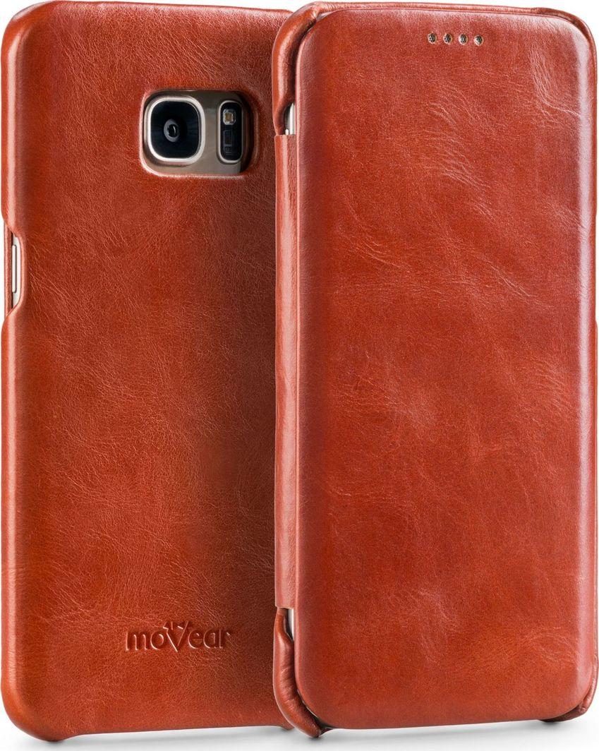 moVear MOVEAR Etui Galaxy S7 EDGE Brązowa skóra Samsung G935F Standard 1