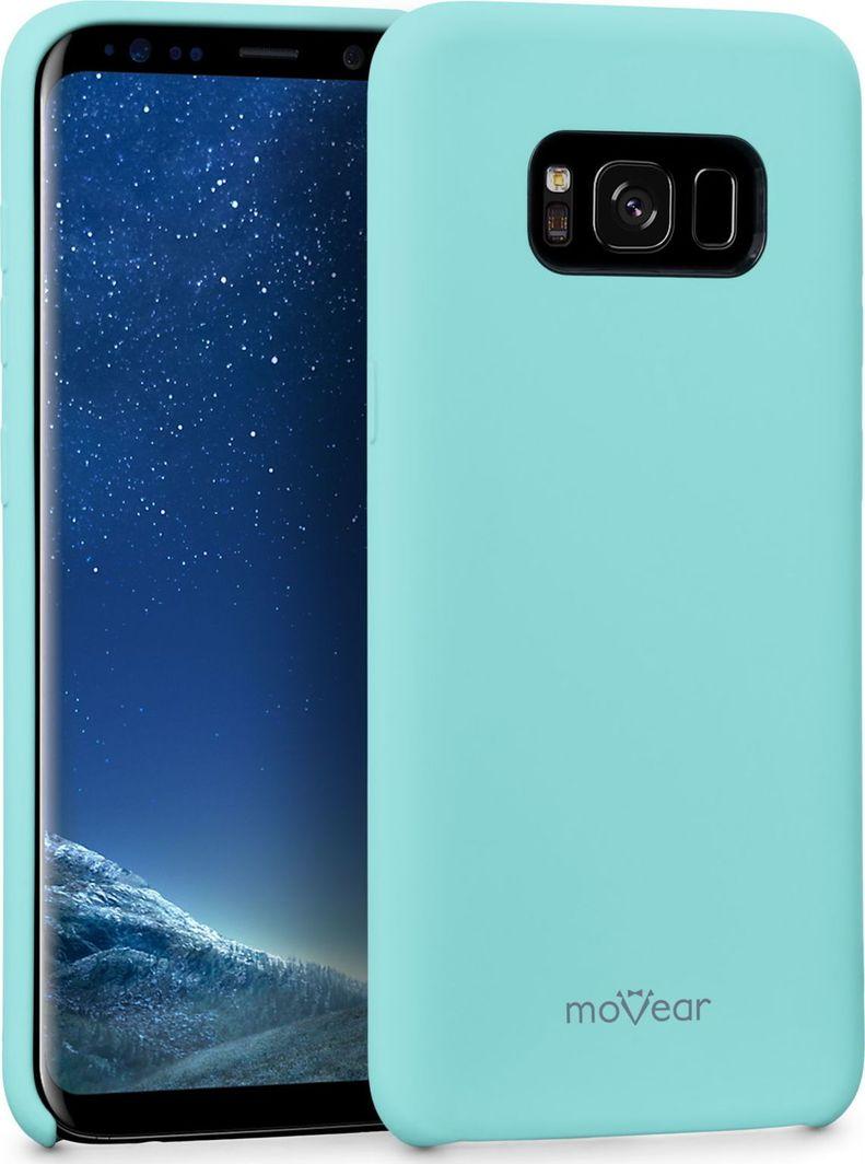 moVear Etui silikon Galaxy S8+ (Plus) MOVEAR silkyCase Miętowe Samsung G955F Standard 1
