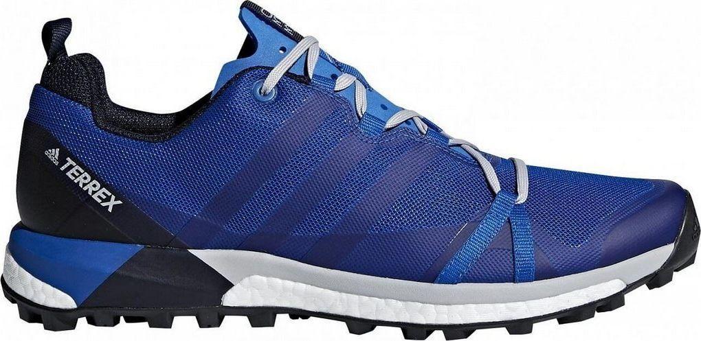 Adidas Buty męskie Terrex Agravic niebieskie r. 44 (CM7616) ID produktu: 5794291