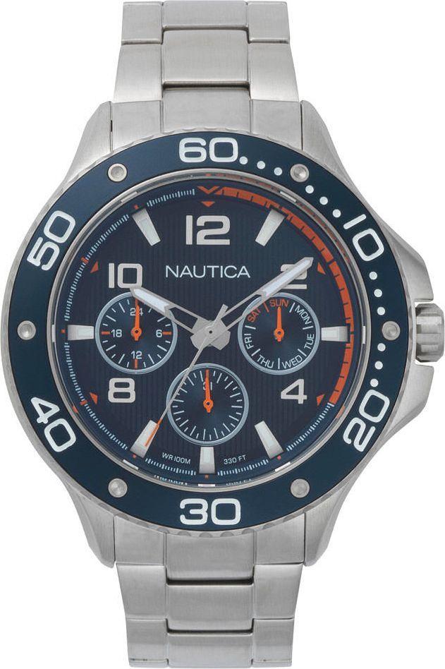 Zegarek Nautica Zegarek Nautica Pier 25 NAPP25006 Multi Data uniwersalny ID produktu: 5795606