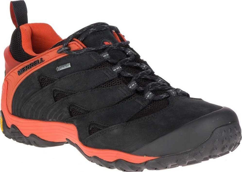 MERRELL Buty męskie Chameleon 7 Gtx Gore Tex czarno pomarańczowe r. 43.5 (J98291) ID produktu: 5796060