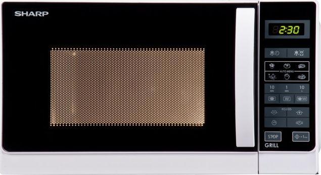 Kuchenka mikrofalowa Sharp R642WW 1