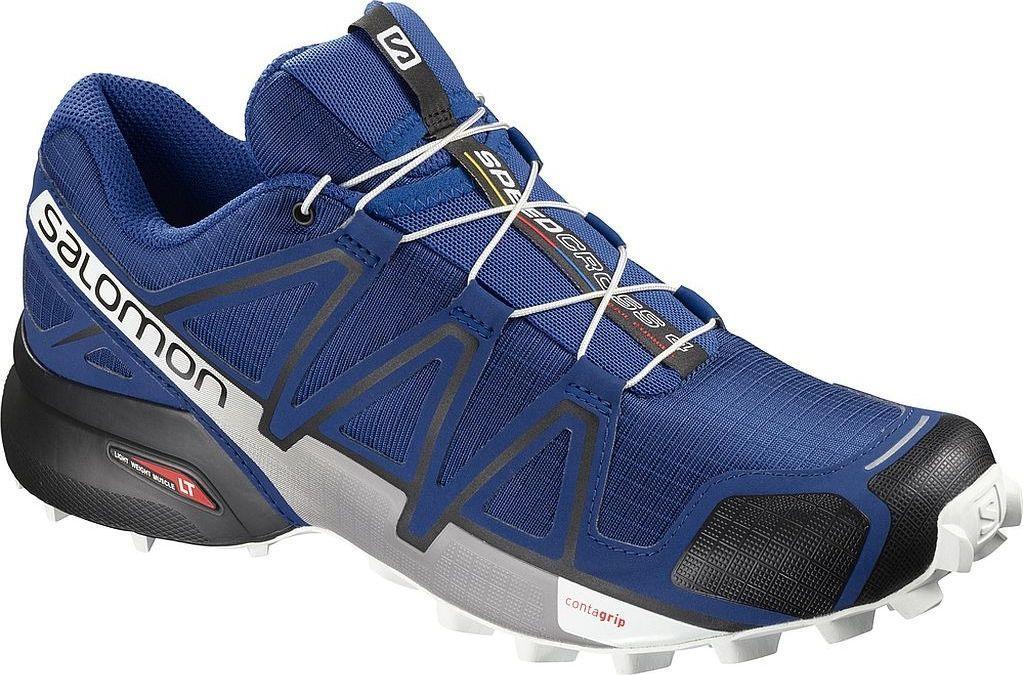 buty sportowe salomon speedcross 3 meskie niebieskie w