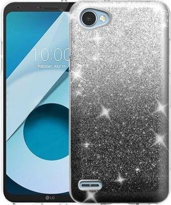 Nakładka Glitter do Samsung Galaxy A7 2018 czarny 1