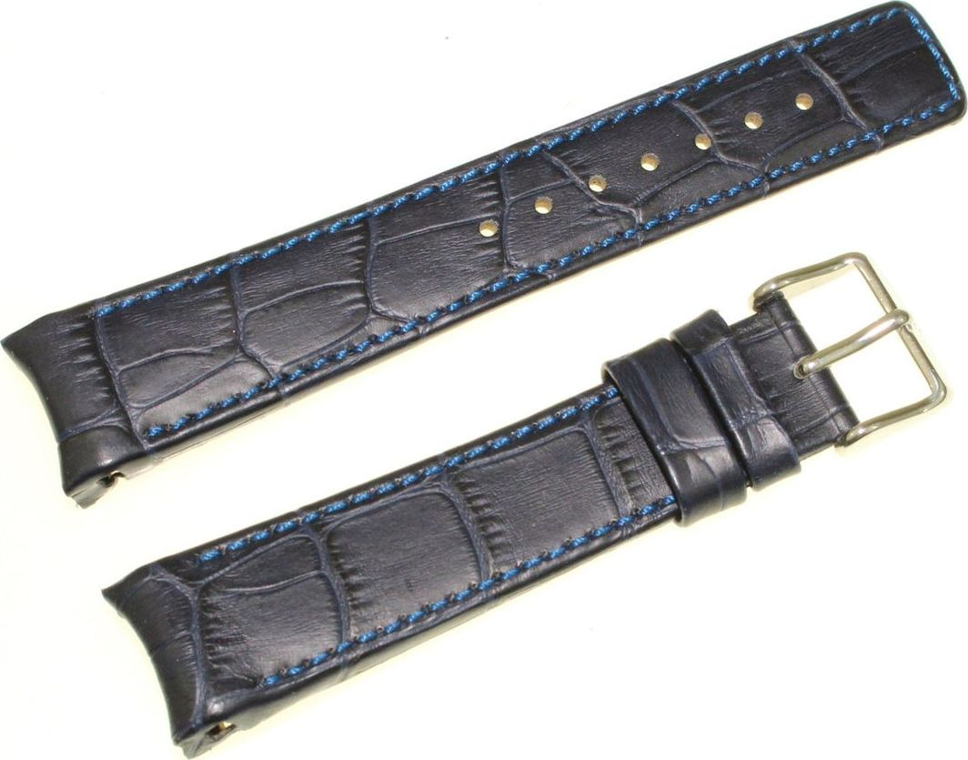 Hirsch Skórzany wodoodporny pasek do zegarka 20 mm HIRSCH Leonardo 12702880-2-20 uniwersalny 1