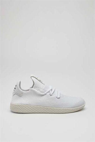 100% najwyższej jakości sprzedaż online wiele stylów Adidas Buty adidas PHARRELL WILLIAMS TENNIS HU 792 FOOTWEAR WHITE FOOTWEAR  WHITE CHALK WHITE 43 1/3 w Sklep-presto.pl