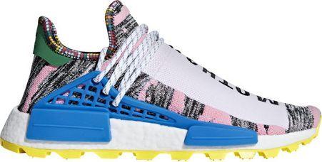 Adidas Buty męskie Pharrell Williams Afro HU NMD niebiesko żółte r. 44 23 (BB9531) ID produktu: 5801011