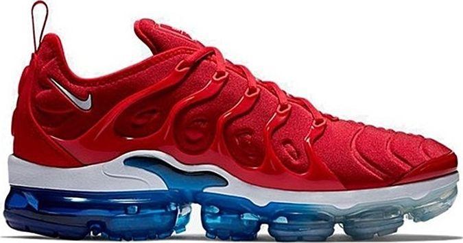 Nike Buty męskie Air Vapormax Plus czerwone r. 42.5 (924453 601) ID produktu: 5801032