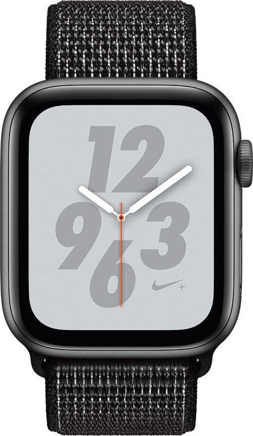Smartwatch Apple Watch Nike+ 4 GPS 40mm Grey Alu Czarny  (MU7G2WB/A) 1