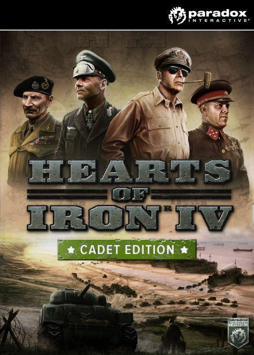 Hearts of Iron IV Cadet Edition PC, wersja cyfrowa 1
