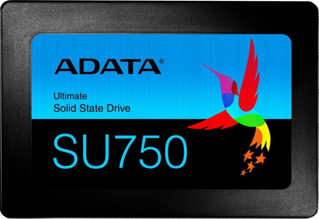 "Dysk SSD ADATA Ultimate SU750 256 GB 2.5"" SATA III (ASU750SS-256GT-C) 1"