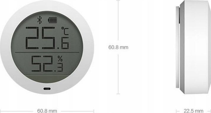 Xiaomi Xiaomi Mi Temperature and Humidity Monitor 1