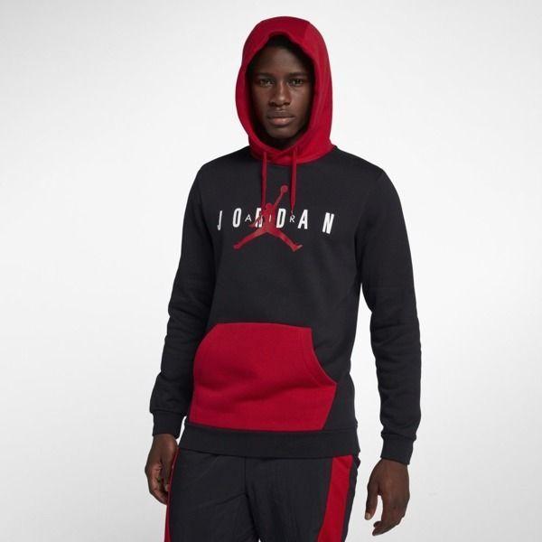 tanie trampki w magazynie nowy wygląd Jordan Bluza męska Sportswear Jumpman Air czarna r. XXXL (AA1451-010) ID  produktu: 5804072