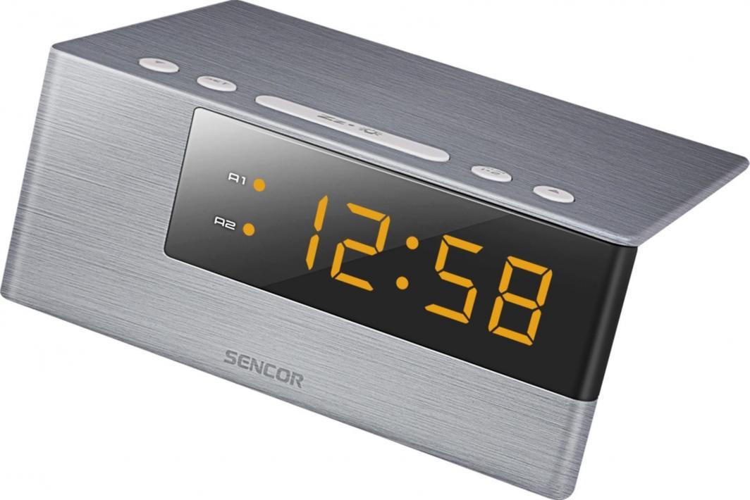 Sencor Zegar cyfrowy z budzikiem SDC 4600 OR 1